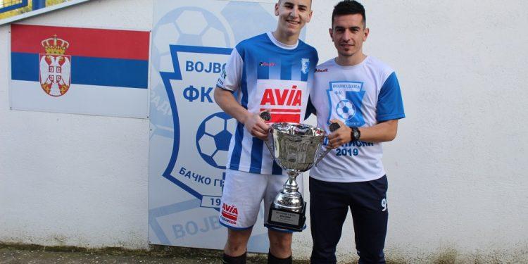 Njih dvojica, Nenad Kudrić i Aleksandar Marjanov, su 73 puta zatresli mrežu rivala   V. Jankov