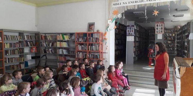 Sa jedne od aktivnosti u biblioteci u Bačkom Gradištu