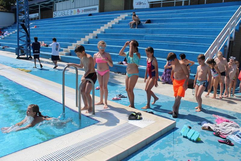Ko je savladao obuku, ulazi u olimpijski bazen | Foto: Vlastimir Jankov