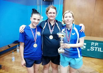 Reprezentacija opštine Bečej osvojila je zlato u konkurenciji ženskog stonog tenisa | Foto: Vlastimir Jankov