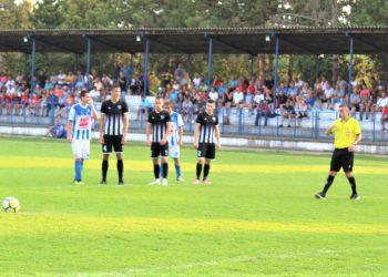 Pred jedini pogodak u vojvođanskoj ligi Marka Bubanje iz penala | Foto: Vlastimir Jankov