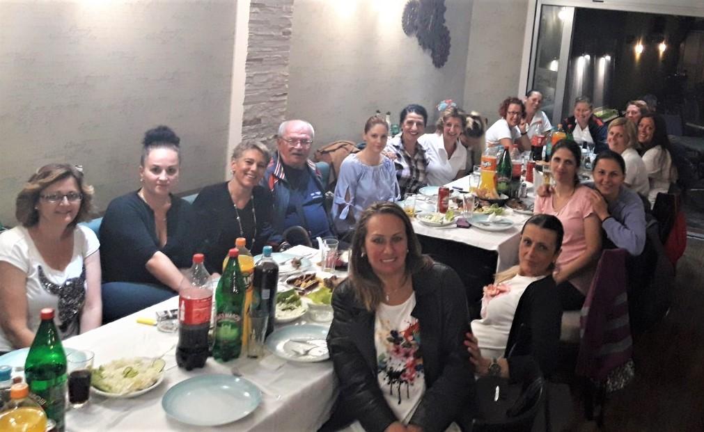 """Sa zajedničkog druženja u restoranu """"Mapamondo"""""""