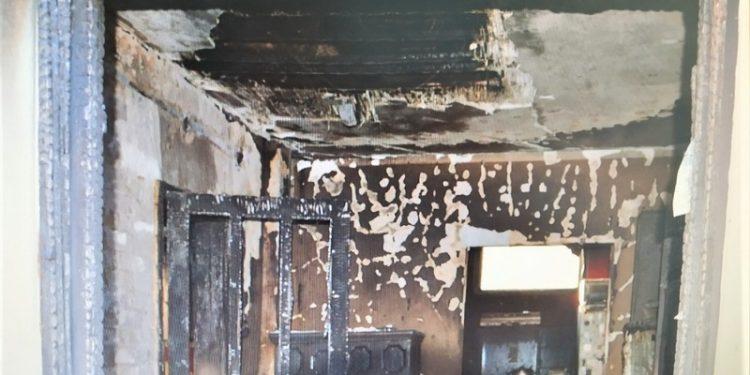 Ovako je izgledala kuća iznutra posle požara