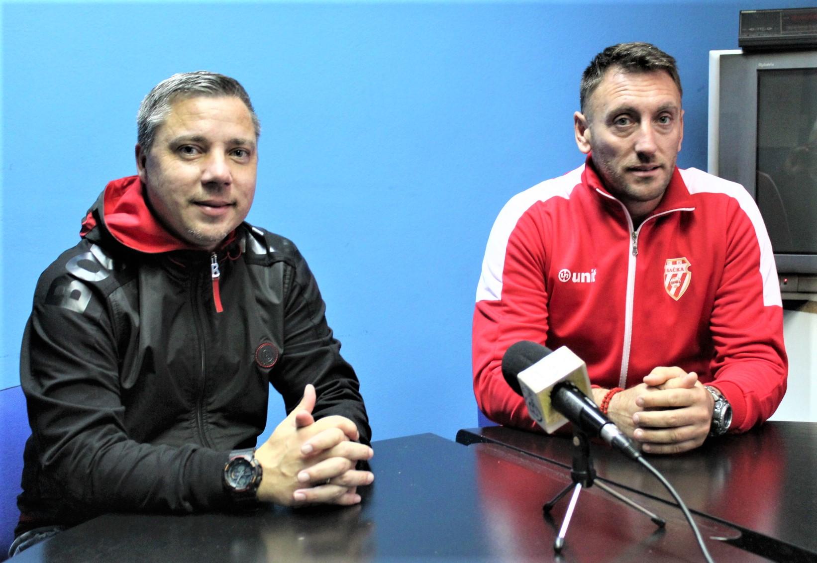 Šefovi Milan Belić i Savo Pavićević (ne)zadovoljni