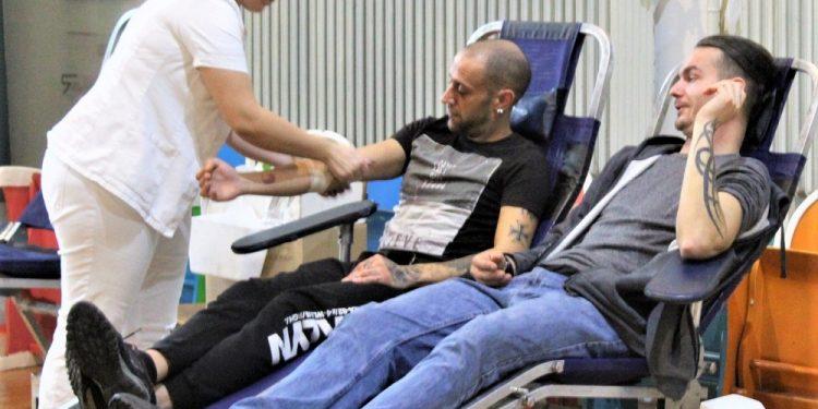 Sa poslednje ovogodišnje akcije dobrovoljnog davanja krvi u Bečeju | Foto: V. Jankov