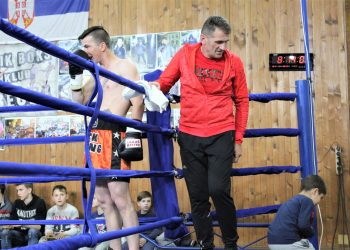 Trener Žarko Radović na poslednjoj jubilarnoj 10. profi reviji