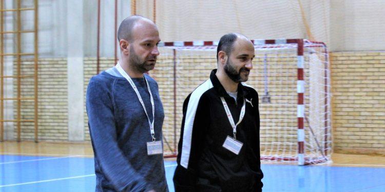 Treneri Bečeja 2003 Igor Šošo i Goran Strajnić
