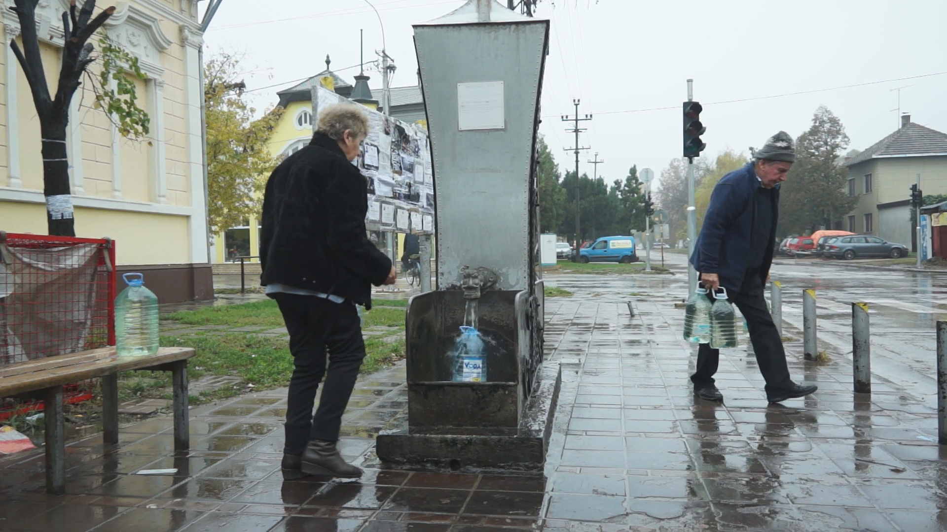 Po žutu vodu i po kiši | Dvoglavi bunar u Republikanskoj