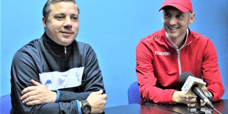 Nekad su Milan Belić i Ivan Gvozdenović bili suparnici na terenu, a sad kao treneri kraj terena