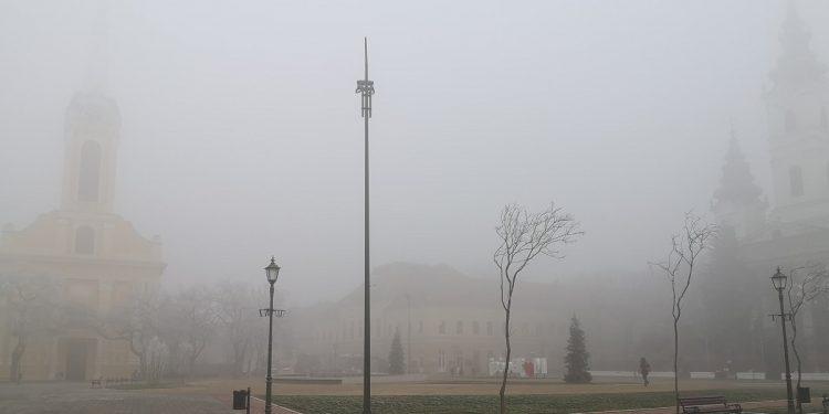 Magla u Bečeju se zadržala gotovo nedelju dana