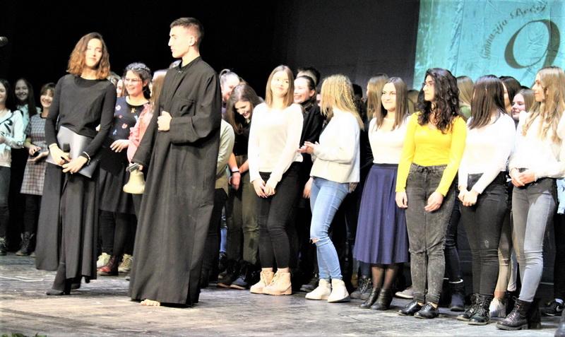 Učesnici Svetosavske akademije u Bečeju