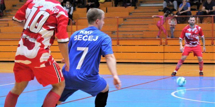 Momenat sa jesenje utakmice Bečejaca i Valjevaca
