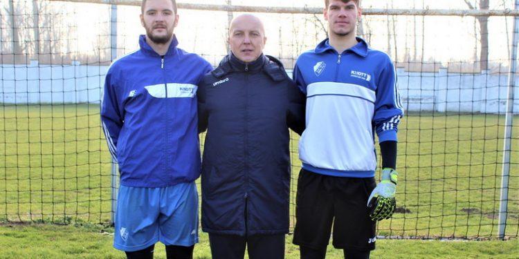 Dragan Leskovac sa svojim pulenima Markovićem i Puškićem