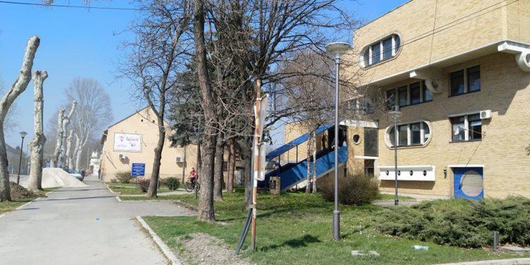 Zgrada policijske stanice u Bečeju | Foto: Oskar Lukač