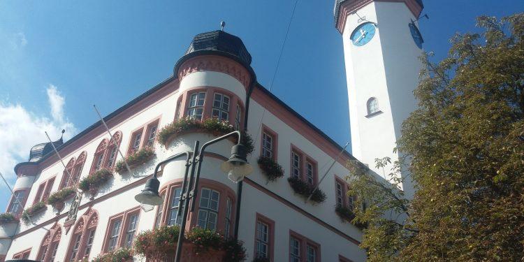 Detalj iz gradića Hofa u Bavarskoj