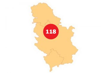 Broj evidentiranih zaraženih osoba korona virusom u Srbiji na dan 20. mart 2020.