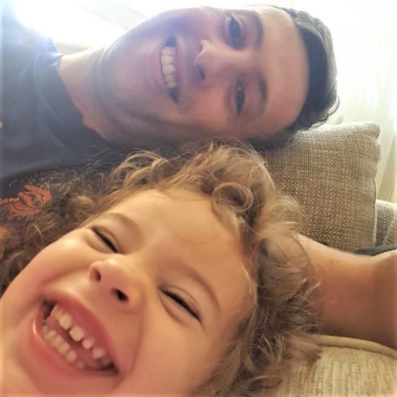 Tata Pele i ćerka Vanja