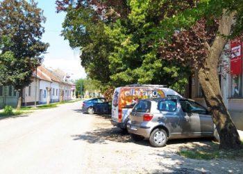 Deo ulice Zoltana Čuke koji je predviđen za rekonstrukciju
