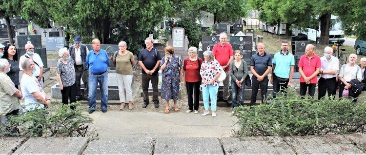 Učesnici bečejske komemoracije povodom Dana boraca
