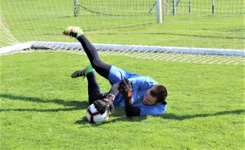 Za sada je Mane Marković usamljen na golu Bečejaca