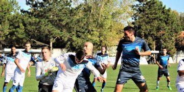 Bojan Đekić postiže prvi pogodak u derbiju protiv Petrovčana