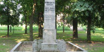 Doskorašnji izgled spomenika palim Crvenoarmejcima u Bočaru