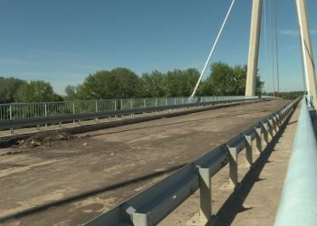 """Bečejski"" most u Adi, foto: Pannon RTV"