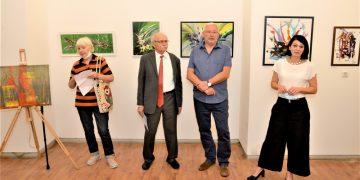 Sa otvaranja samostalne izložbe Aleksandra Saše Markova