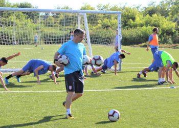Trener Bečejaca Milan Belić