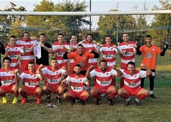 Jedinstvo posle pobede u opštinskom derbiju | Foto: FK Jedinstvo