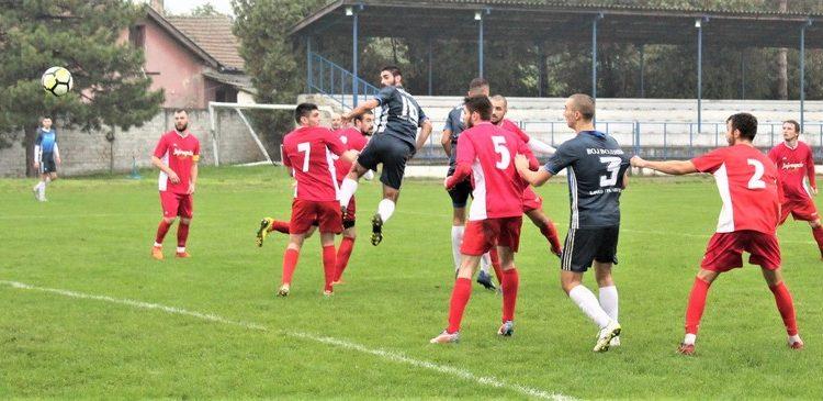 Bojan Đekić je na atraktivan način glavom postigao gol