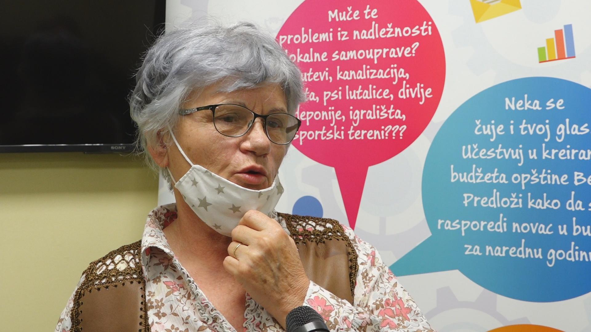Neophodno uređivanje ulice Rade Stanišića, kaže Milica Gurjanov