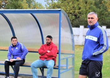 Stručni štab Bečejaca s desna Miloš Andrić, Strahinja Vasković i Dalibor Novčić