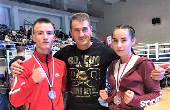 Žarko Radović sa Milicom Stojšin i Đorđem Vujakovićem