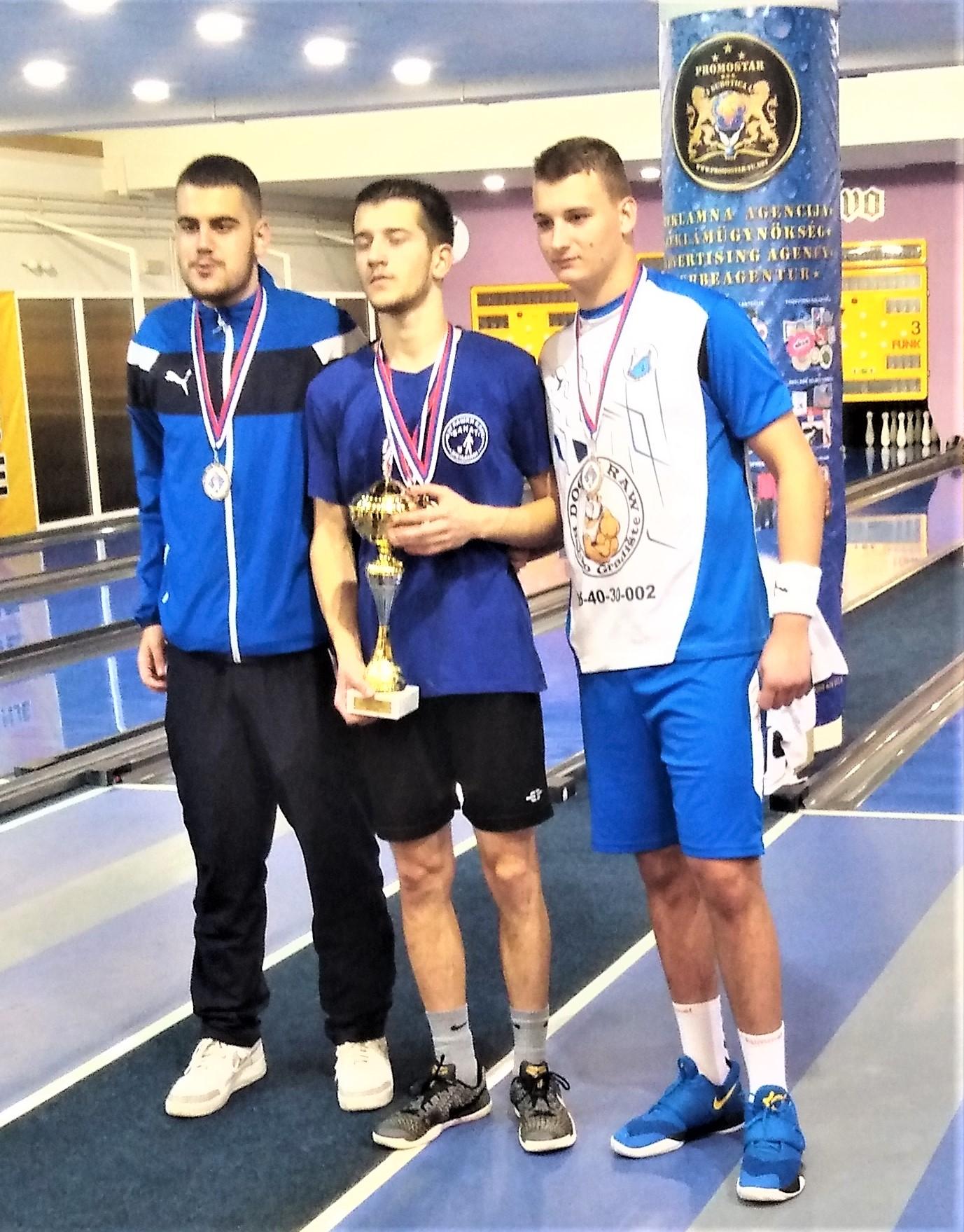 Gabor Kurcinak treći na pojedinačnom juniorskom prvenstvu Srbije