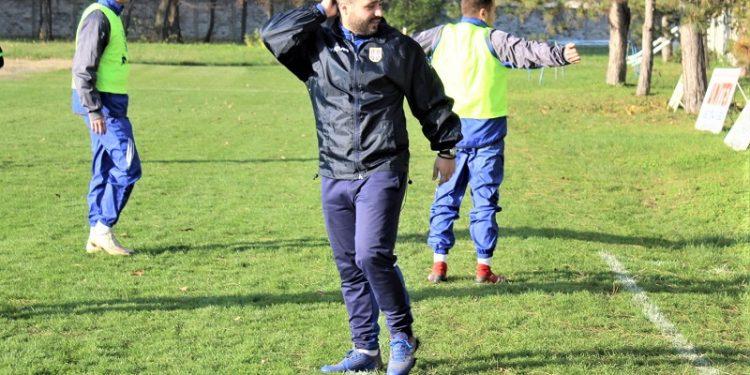 Trener Vojvodine Lazar Dabižljević