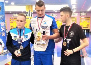 Najbolja trojka u kadetskoj konkurenciji kupa Vojvodine