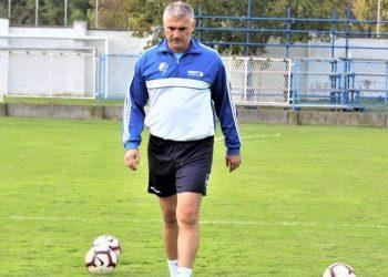 Sportski direktor i trener OFК Bečej 1918 Miloš Andrić
