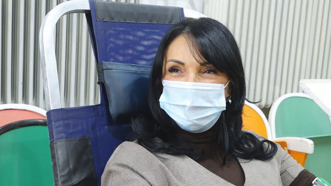 U Bečeju žene redovno daju krv