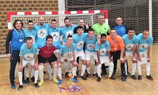 Osvajači trofeja kupa Vojvodine futsaleri Tise iz Novog Bečeja