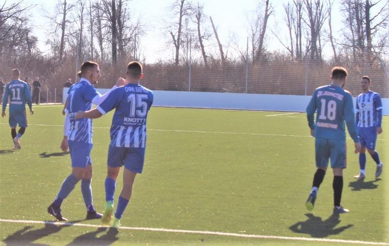 Radost Luke Krajinovića (7) posle postignutog gola