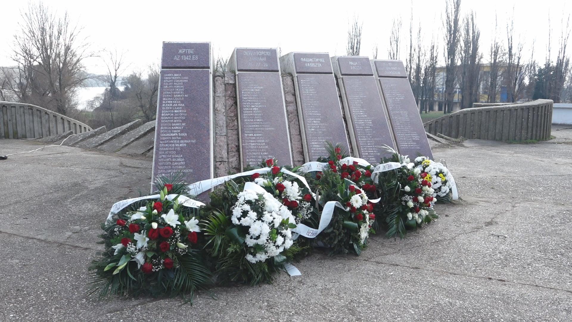 Spomen obeležje žrtvama racije u Bečeju