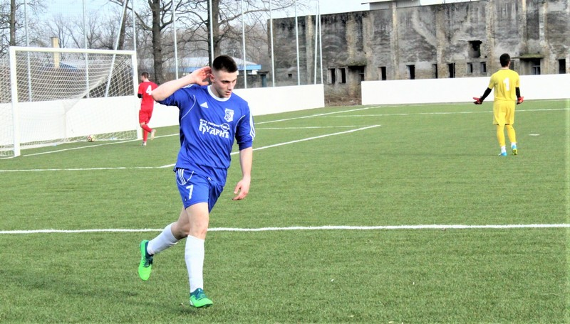 Aleksandar Prodanov posle postignutog gola
