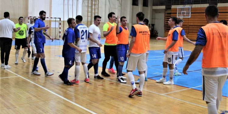 Sportski pozdrav jesenas posle utakmice Bečej – Jastrebac