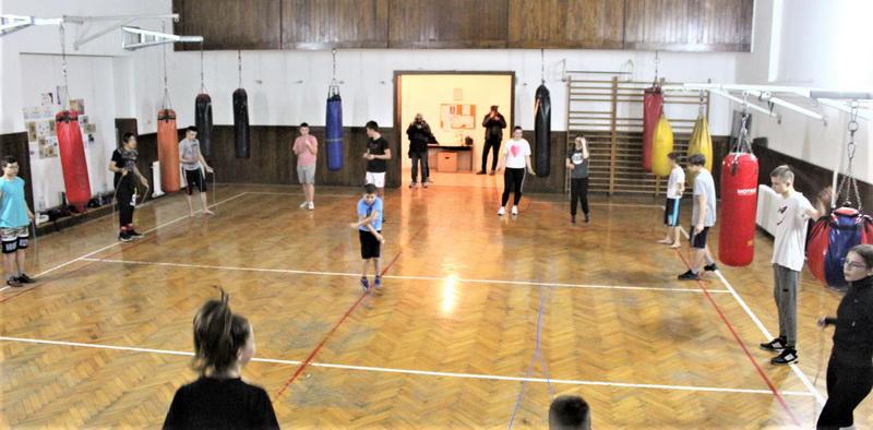 Kikbokseri su održali javni trening svih uzrasnih kategorija