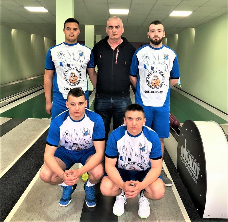 Juniorski prvaci Srbije kuglaši Vojvodine iz Bačkog Gradišta