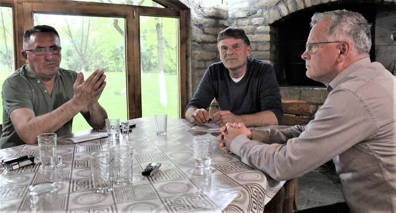 Dosadašnji predsednik Vasa Džigurski, predsednik Skupštine Stevan Rakić i predsednik Upravnog odbora Dragan Koković