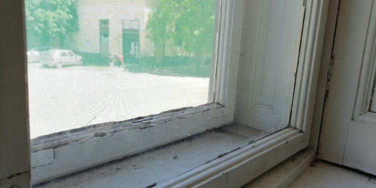 Stari prozor | Ilustracija