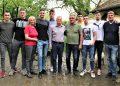 Zajednički snimak igrača i rukovodstva MOK Bečej posle skupštine kluba
