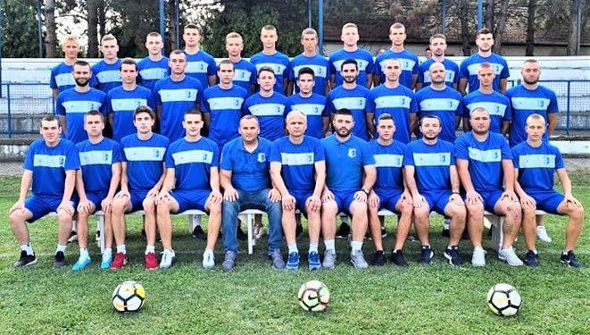 Fudbalski klub Vojvodina iz Bačkog Gradišta u sezoni 2020/2021. FOTO: Arhiva FK Vojvodine